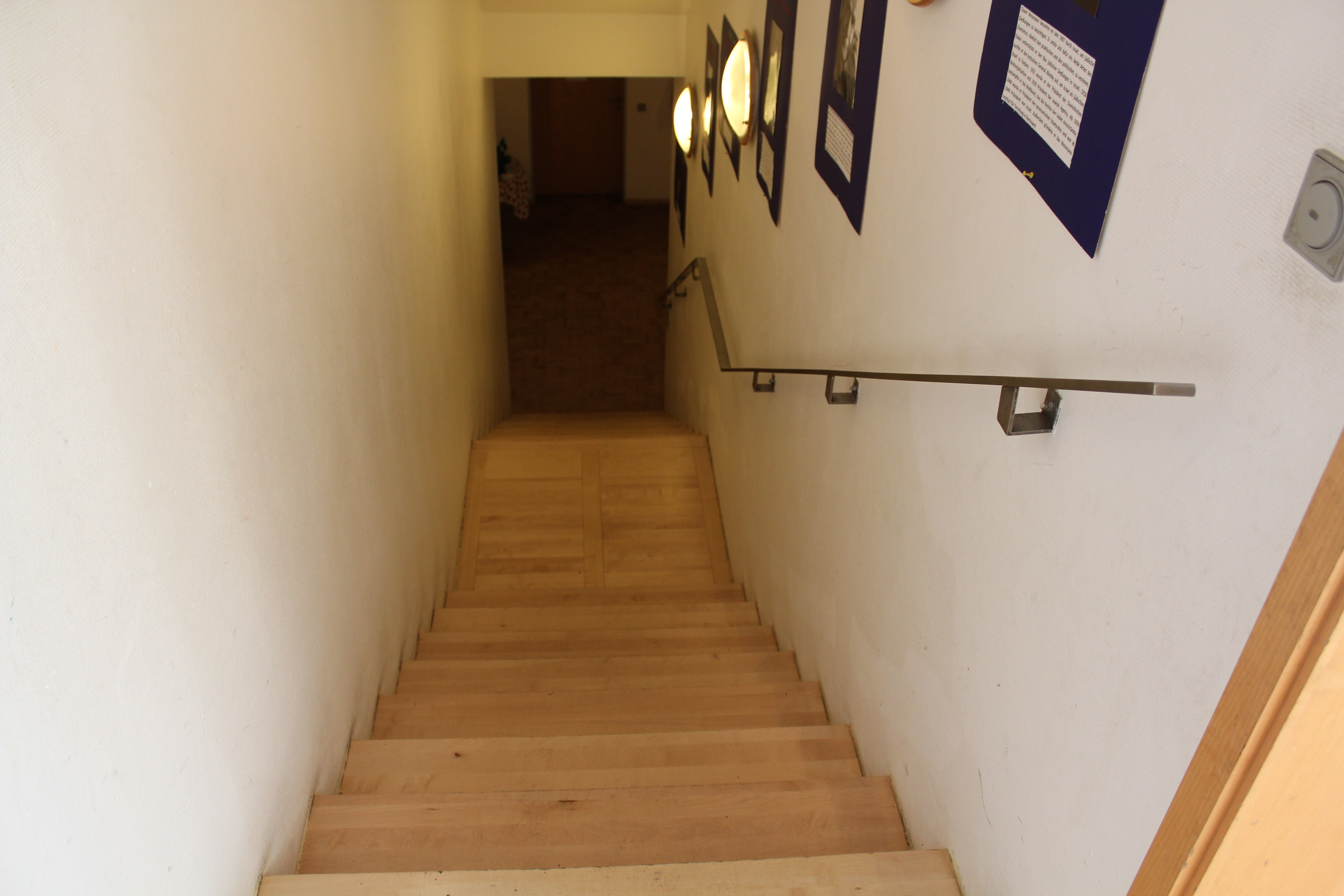 Steps to basement ofenbach -min